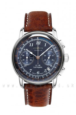 Zeppelin 7614-3 Los Angeles Chronograf