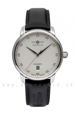 Zeppelin 8652-1 Captain's Line Automatic Sapphir glass